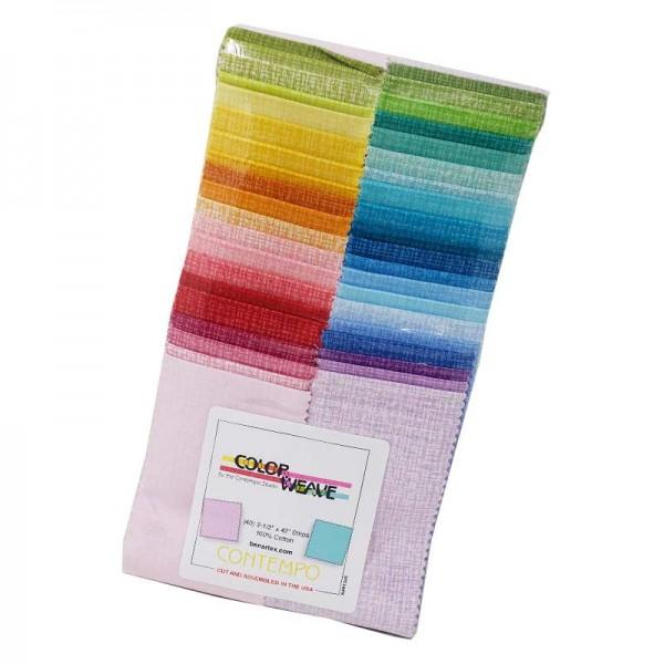 Contempo Color Weave Strip-Pie