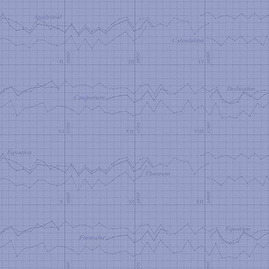 Color Theory Graph Lilac (A-9151-P) von Andover Fabrics