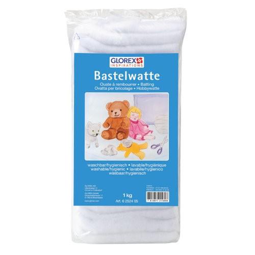 Glorex Bastelwatte Weiß (250 g)