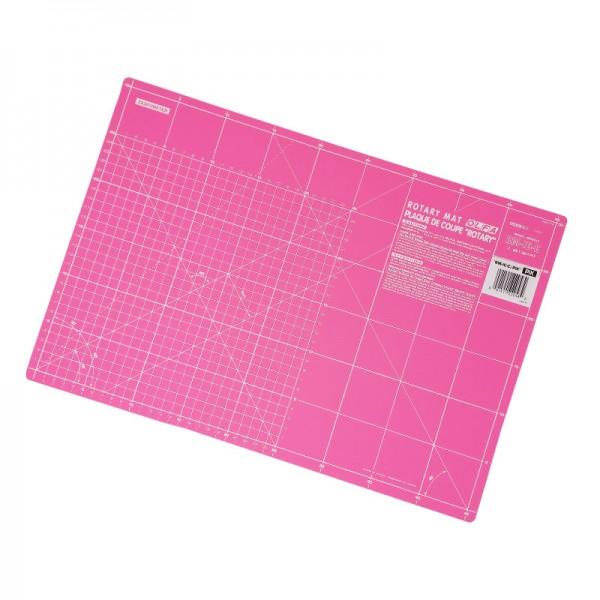 OLFA Schneidematte 45 x 30 cm Fairy Floss Pink