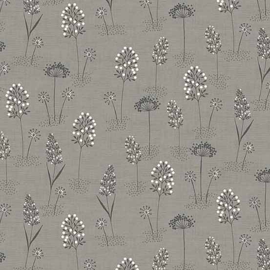 Woodland Grasses Grey (2060-S) von Makower