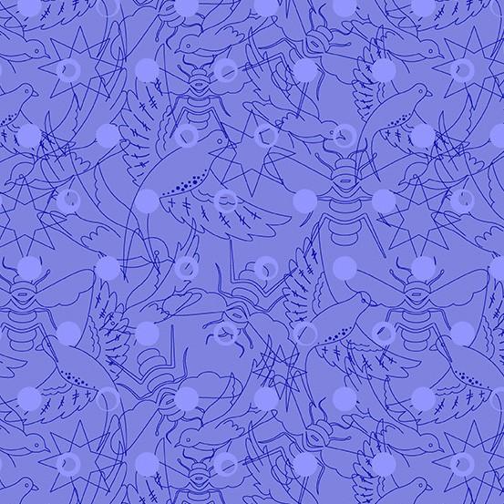 Hydrangea Link (A-8484-B) Sun Print 2017 von Alison Glass