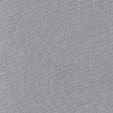 Kona Cotton - Iron / Mittelgrau