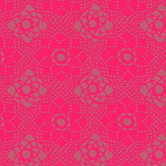 Sun Print 2021 Crochet Strawberry (A-9253-E1) von Alison Glass