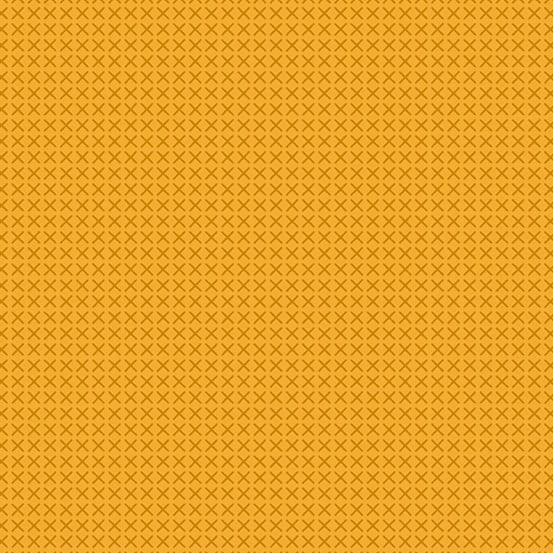 Cross Stitch Mustard (A-9254-Y2) von Alison Glass