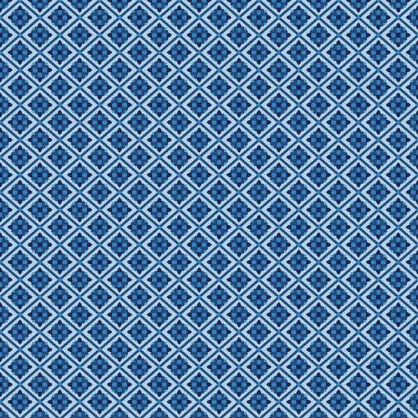 Blue Carolina Tile Blue (C6593-BLUE) von Riley Blake