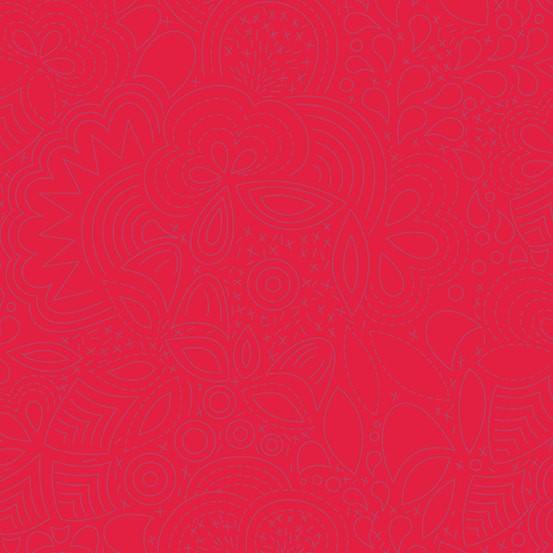 Stitched Poppy (A-8450-R2) Sun Print 2020 von Alison Glass