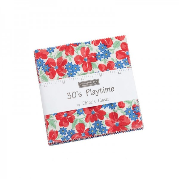 Moda 30's Playtime Charm Pack