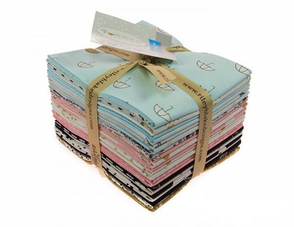Riley Blake - When Skies Are Grey Fat Quarter Bundle